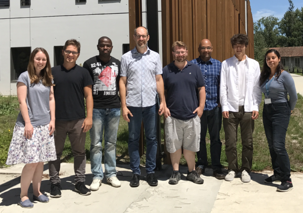 Lab photo summer 2017